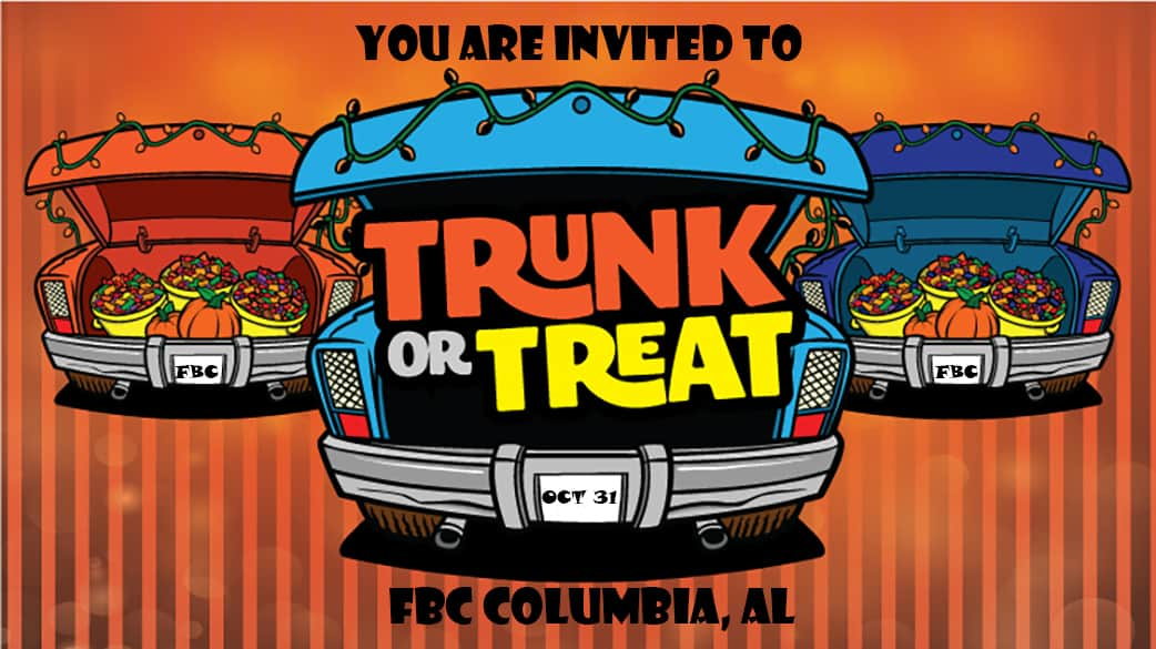 trunk or treat near me 2019